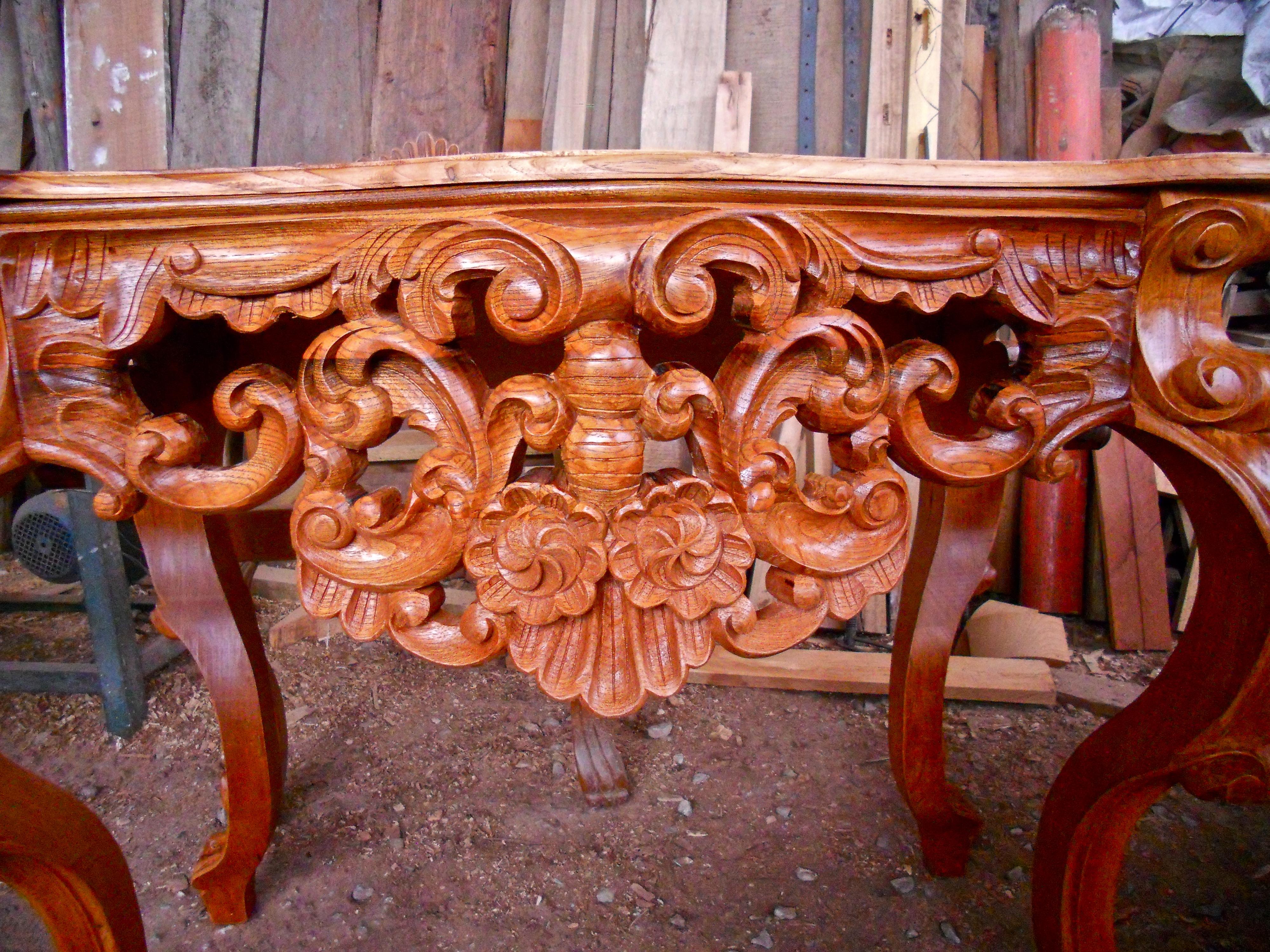 Wood Carving Fredy Huaman Art Restoration